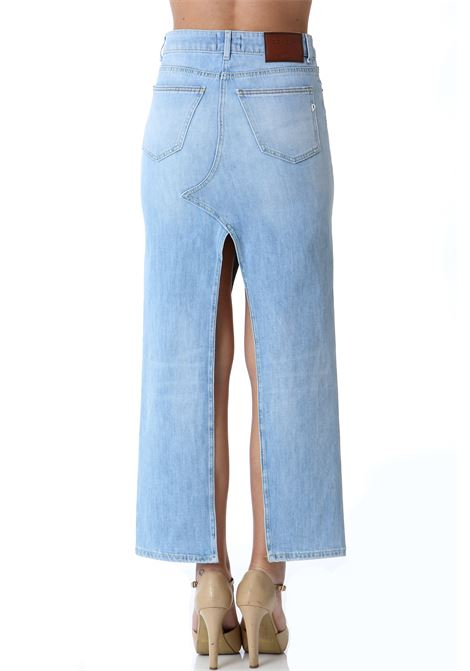 GONNA LUNGA IN DENIM DON DUP | Gonne | G483DS0107BE8800