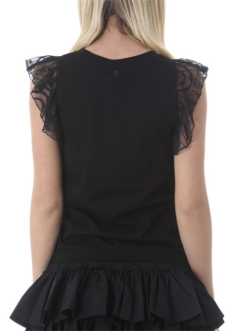 TOP CON SPALLINE DI PIZZO DON DUP | Top | S876JF0291DXXX999