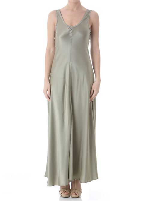 MORACAIN SATIN SLEEVLESS DRESS FORTE FORTE | Abiti | 8054-MYDRESS3013