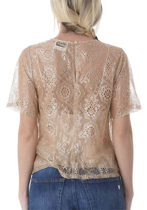 T-SHIRT CHANTILLY IN LUREX FORTE FORTE | T-shirt | 8064-MYTOP1008