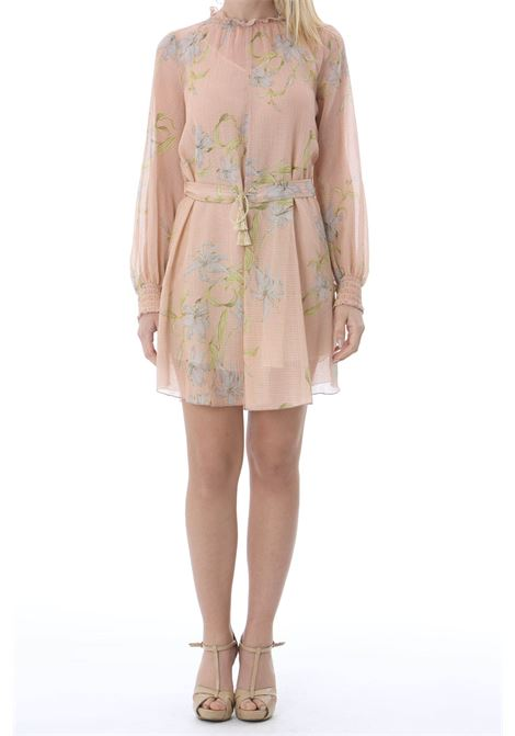 GIULIETTA PRINT COTTONSILK CREPPONE VOILE SHORT DRESS FORTE FORTE | Abiti | 8091MYDRESS2005