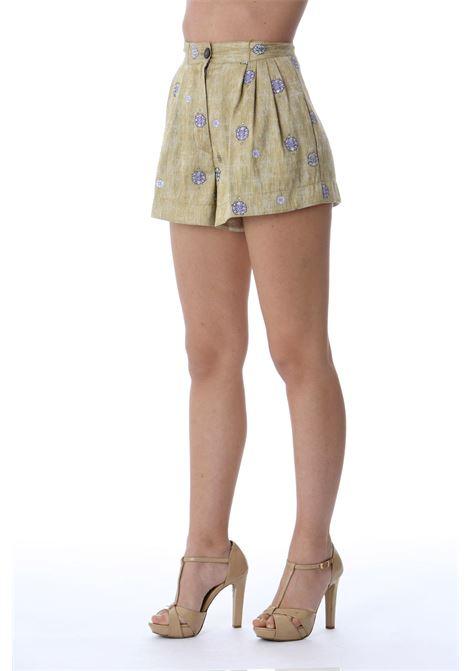 Shorts donna fantasia FORTE FORTE | Shorts | 8202MYPANTSLAVANDA