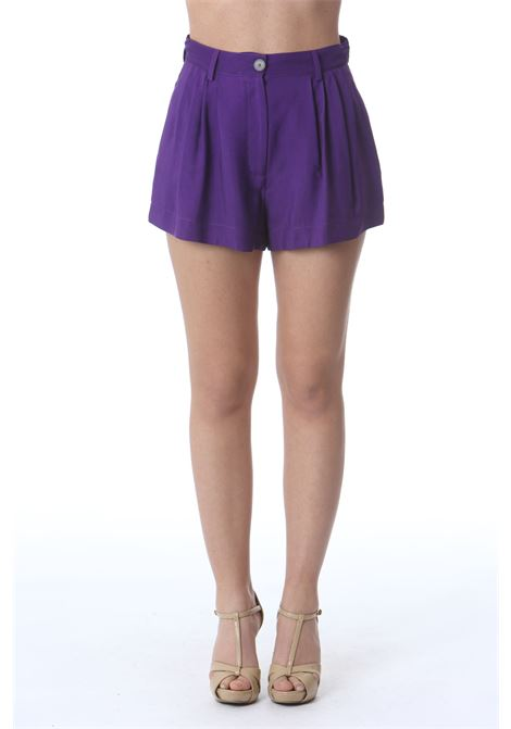 SHORTS IN VISCOSA FORTE FORTE | Shorts | 8219MYPANTSVIOLA