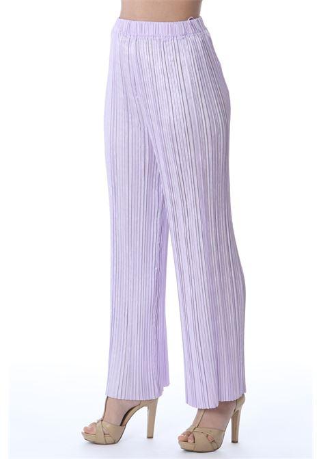 Pantalone donna ampio FORTE FORTE | Pantaloni | 8224MYPANTSVIOLETTO