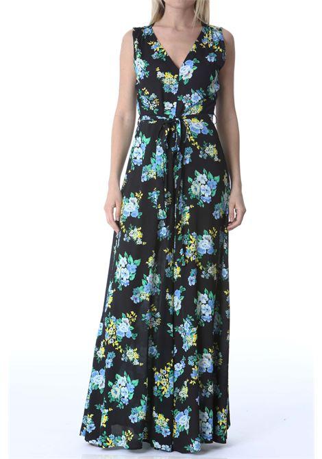 Tuta donna a fiori con cintura JUCCA | Tute | J3317026003