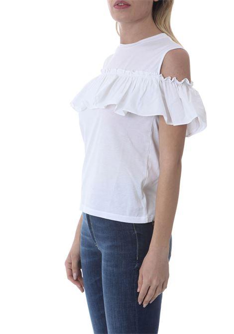 T-SHIRT CON ROUCHE JUCCA | T-shirt | J3318009001