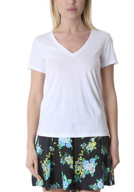 T-shirt donna scollo a v JUCCA | T-shirt | J3318106001