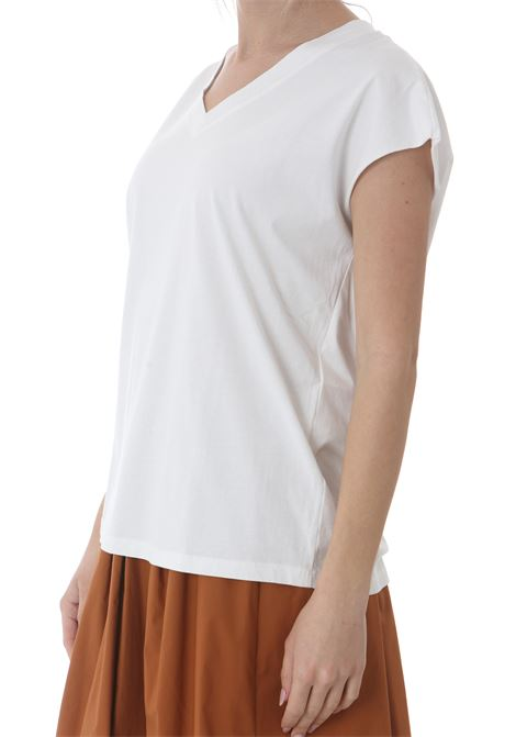 T-SHIRT SCOLLO A V MANILA GRACE | T-shirt | T549CUMD537