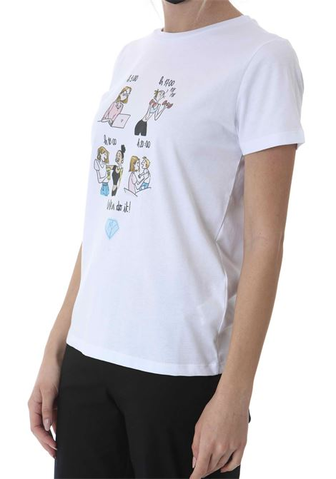 T-SHIRT STAMPA DONNA MANILA GRACE | T-shirt | T002CUMA029