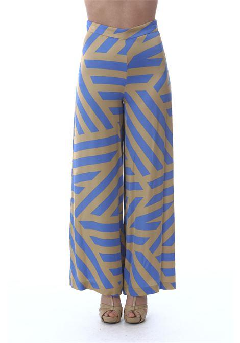 PANTALONE OTTOD'AME | Pantaloni | HUS-DP8854MOU/MARINA