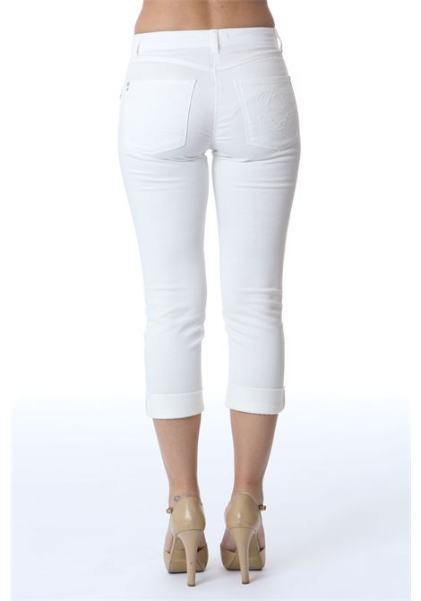 Pantalone donna con risvolto PATRIZIA PEPE | Pantaloni | 2J2326/A8X8W146