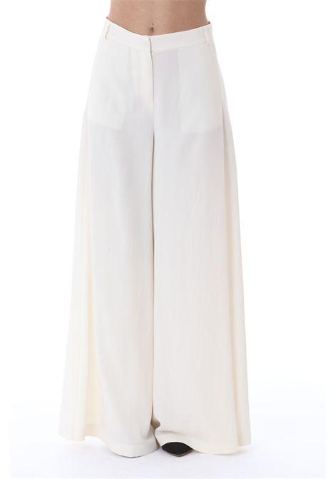 Pantalone donna ampio e fluido PINKO | Pantaloni | 1G15WF-8270C03