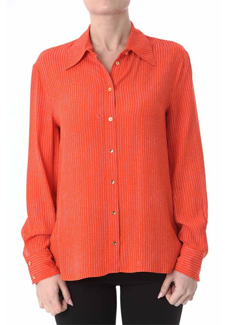Camicia donna in crepe PINKO   Camicie   1G160L-8445RN2