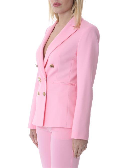Blazer donna doppiopetto con bottoni gioiello PINKO | Giacche | 1G15TQ-5872P95