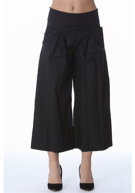 Cropped donna ampio PINKO | Pantaloni | 1G161E-Y6VXZ99