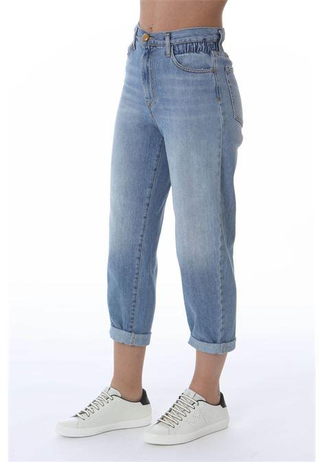 Jeans donna flex Maddie mom con vita elastica PINKO | Jeans | 1J10LL-Y649G14