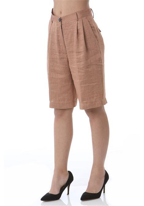 Shorts morbidi a righine POMANDERE | Shorts | 2111-2114/5076336