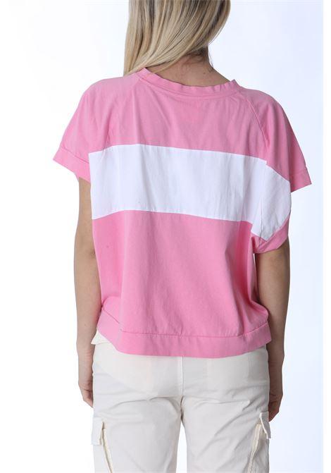 T-shirt donna maniche corte ampie SEMI COUTURE | T- Shirt | S1SJ1431VAR