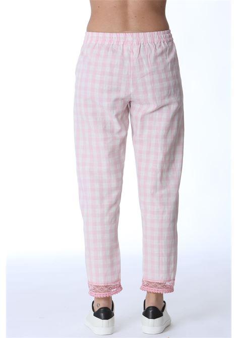 Pantalone donna Vichy SEMI COUTURE | Pantaloni | Y1SF05V04-0