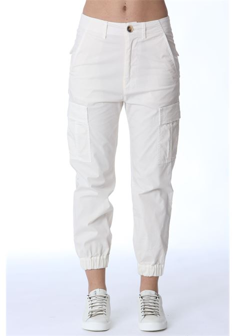 Pantalone donna in cotone SEMI COUTURE | Pantaloni | Y1SO06A10-0