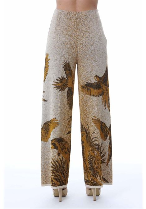 LONG PANTS PAPPAGALLI VIKI-AND | Pantaloni | 201/0-PAPPAGALLIGOLD