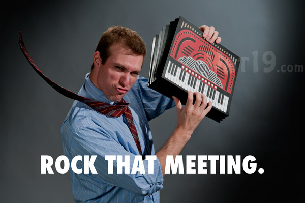 Rock the office with the Accordion File Folder.