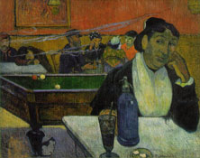 Paul Gauguin's paintings can be art for plasma tvs.