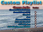 Choose your audio
