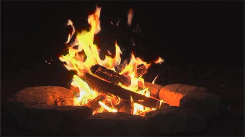 Ambient Fire: Video Fireplace DVD - Premium Fake Fireplace DVD