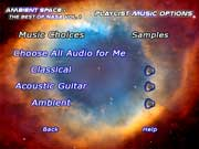 Pick the audio to accompany your NASA video.