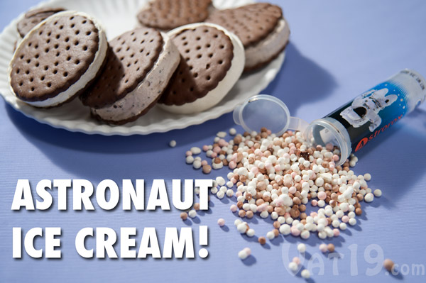 astronaut ice cream in space - photo #32