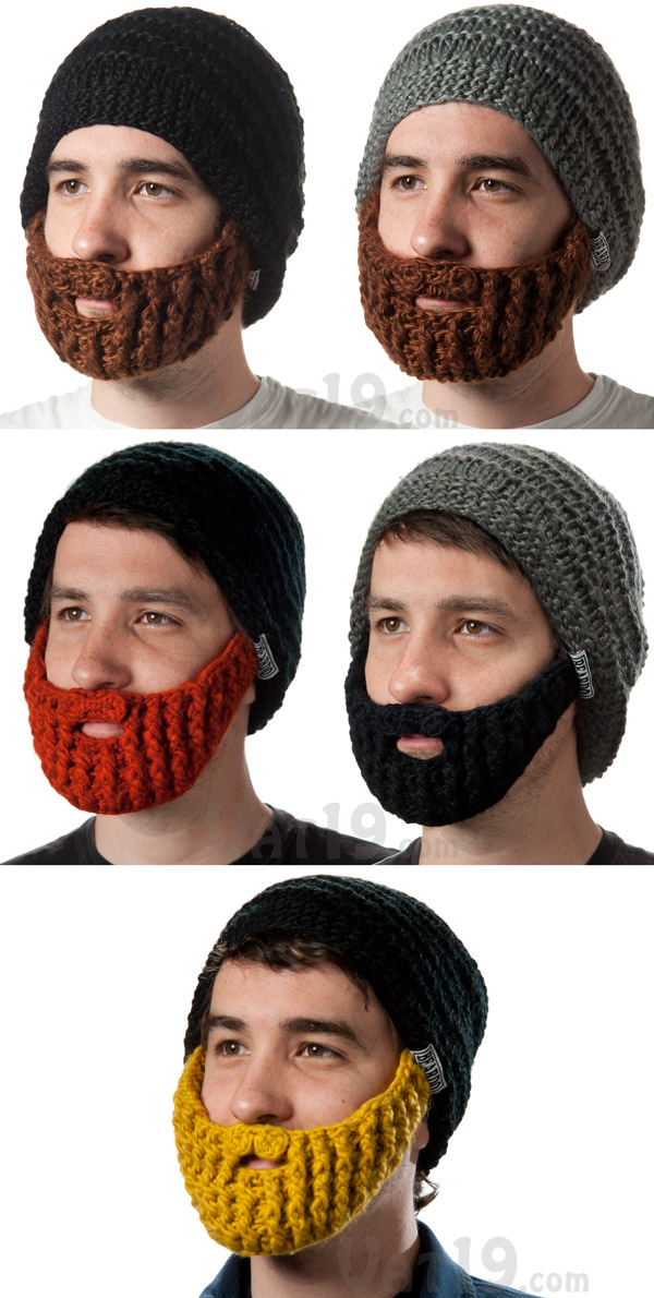 The Beardo Beard Hat is currently available in five styles.