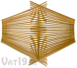 Large Chopstick Folding Basket