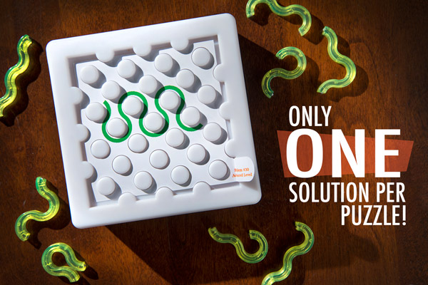 Each Cool Circuits puzzle has only one solution.