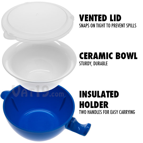 Buy Glass Microwave Bowls With Lids Divided Plates With