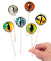 Creature Eye Lollipops