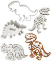 Dino Fossil Cookie Cutters