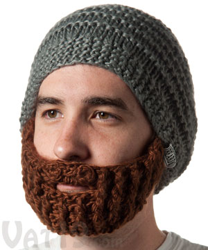Prayer Shawl Patterns Free Knit : The Original Beard Hat from Beardo