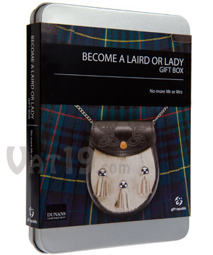 Become a Laird or Lady Gift Box