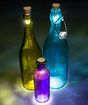 how to make bottle lights