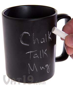 Chalkboard Coffee Mug