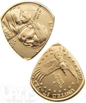 Dollar Coin Guitar Pick