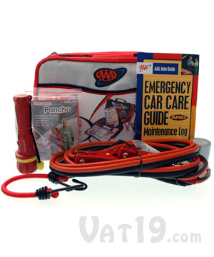 Aaa Emergency Roadside Car Kit The Ultimate Road Kit