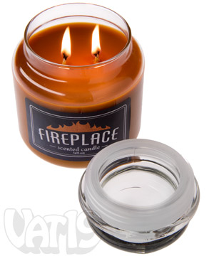 Fireplace Jar Candle