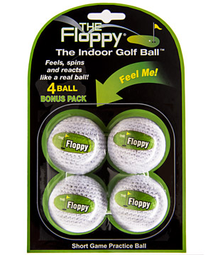 Floppy Indoor Golf Balls