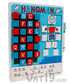 Hangman Travel Game