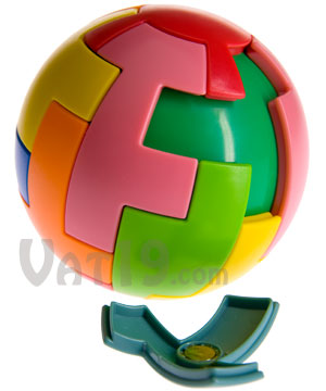 Magic 16 Magnetic Puzzle Ball