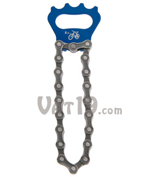 Recycled Bike Chain Bottle Opener