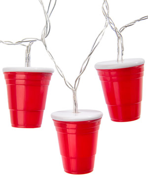 Party Cup String Lights : Red Party Cup: String of Lights