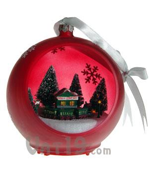 Musical Sparkling Christmas Ornament: Plays 25 Christmas ...